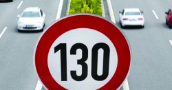 جرمنی میں شاہراہوں پر گاڑیوں کی حدرفتار 130 کلومیٹر فی گھنٹہ مقرر