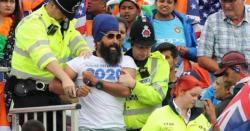 سکھوں کی بھارتی کرکٹ ٹیم پر سرجیکل اسٹرائیک میچ کے دوران اسٹیڈیم میں خالصتان آزادی کی آواز بلند