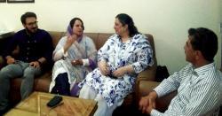 (ساجدہ صداقت کی ملاقات)ہاشوفائونڈیشن خواتین کی ترقی کیلئے اقدامات کررہی ہے،عائشہ خان