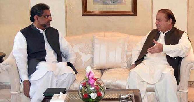شاہد خاقان عباسی کا پروڈکشن آرڈر پر پارلیمنٹ کے مشترکہ اجلاس میں آنے سے انکار