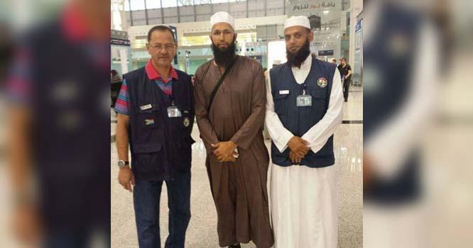 ہاشم آملہ نے ریٹائرمنٹ کے بعد حج کی سعادت حاصل کرلی