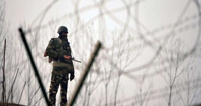 بھارتی فوج کی لائن آف کنٹرول پر بلااشتعال فائرنگ جاری