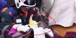 جسے اللہ رکھے، 35 گھنٹے بعد کمسن بچے کو ملبے سے زندہ نکال لیا گیا