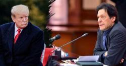 بھارت کو روکیں ورنہ ہم ہتھیار اُٹھانے پر مجبور ہو جائیں گے،وزیراعظم عمران خان کی امریکی صدر کو وارننگ