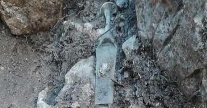 معروف پہاڑی سے 3200سال تاریخی انتہائی معروف شخصیت کی تلوار برآمد