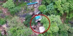 چین : 17برس سے مفرور مجرم ڈرون کی مدد سے غار سے گرفتار