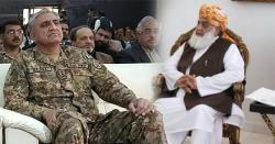 فضل الرحمن کی آرمی چیف سے ملاقات کی بھرپور کوشش لیکن جنرل باجوہ مولانا سے کیوں نہیں ملنا چاہتے