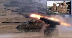 پاک فوج نے بھارت پر حملہ کر دیا ، متعدد چوکیوں کے پر خچے اڑا دیے