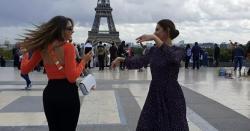 ماہرہ خان کاپیرس میں عرب اداکارہ  کیساتھ ڈانس ،ویڈیوسوشل میڈیاپروائرل