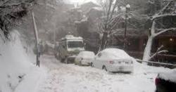 پاکستانی جانے سے قبل یہ خبر پڑھ لیں ۔۔موسم سرما کی پہلی شدید برفباری