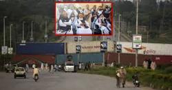 احتجاج پورے ملک میں ہوگا اور ہم پاکستان کی اہم ترین 18شاہراہیں بندکر دیں گے