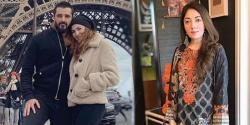 اداکارہ حمزہ علی عباسی ، نیمل خاور کی ہنی مون تصویر پر تنقید شرمیلا فاروقی کو مہنگی پڑ گئی