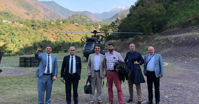بھارتی جھوٹے دعووں کا پول کھولنے کے لیے غیر ملکی سفارت کار وں کو آج لائن آف کنٹرول کا دورہ کر ایا جا رہا ہے
