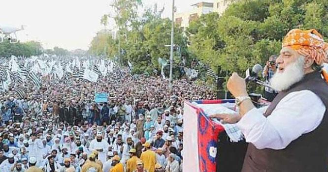 پاکستان کی 25 بڑی مذہبی تنظیموں نے آزادی مارچ کی مخالفت کردی