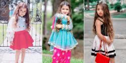 امریکی فیشن میگزینز میں جگہ بنانے والی 4 سالہ پاکستانی نژاد ماڈل کے چرچے