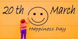 دنیا بھر میں خوشیوں کا عالمی دن آج 20مارچ کو منایا جا ئیگا