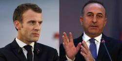 ترک وزیر خارجہ کا فرانسیسی صدر پر دہشت گردوں کی معاونت کا الزام