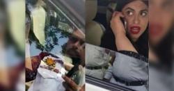 کراچی میں باپ کی عمر کے ٹریفک اہلکار کے ساتھ بدتمیز ی کرنےوالی خاتون نے ڈر کے مارے کیا کام کر ڈالا ، جانیں