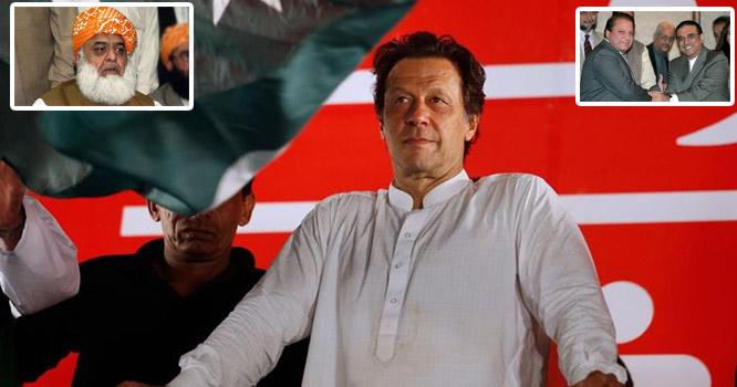 مولاناکوسرخ جھنڈی دکھادی ،کپتان کی سیاسی قوت میں مزیداضافہ