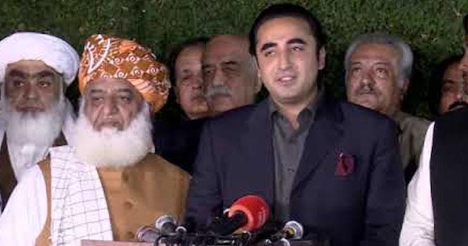 کراچی میں دھرنا دینے پر جے یوآئی سندھ کے جنرل سیکرٹری کے خلاف مقدمہ