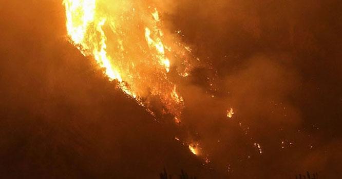 عرب اسلامی ملک میں آتشزدگی کاواقعہ، 13افراد جاں بحق
