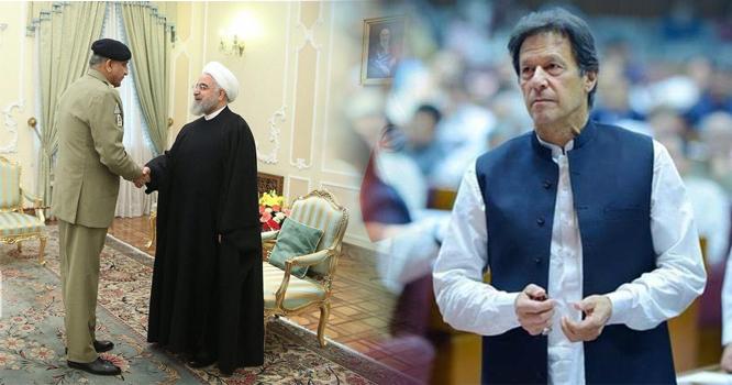 پاک فوج کے سربراہ نے انہیں ایسا کیا کہا کہ ایرانی صدر فورااحتراماً کھڑے ہو گئے