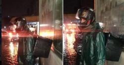 اداکارہ حریم فاروق سردی میں ٹھٹھرتے ڈلیوری بوائے کی حمایت میں سامنے آگئیں
