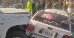 اسلام آباد میں سگنل توڑنے والی امریکی سفارتخانےکی گاڑی کی ٹکر ،دو افراد جاں بحق
