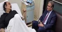 انتقال کے بعد پہلی بڑی خبر ،شاہ محمود قریشی نے نعیم الحق کا ذاتی بڑا راز فاش کر دیا