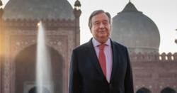 اقوام متحدہ کے سیکریٹری جنرل انتونیو گوتریس 4 روزہ دورہ پاکستان مکمل کرکے واپس روانہ ہوگئے ہیں