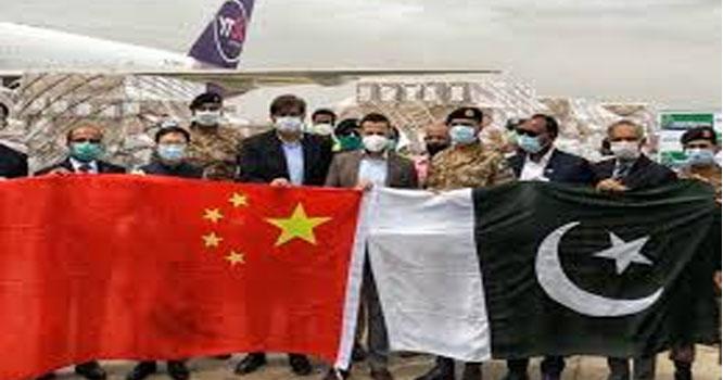 چین کی جانب سے طبی آلات بھیجنے کا سلسلہ جاری