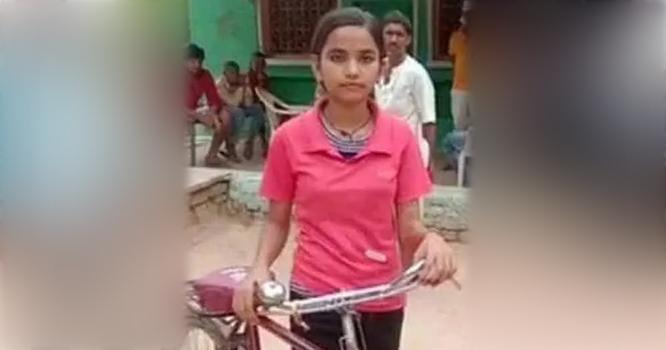 24 کلومیٹر سائیکل چلا کر سکول جانے والی طالبہ نے98 فیصد سے زائد مارکس حاصل کرلیے، تعلق کہاں سے ہے ، جانیں