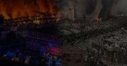مسلم ممالک کے لیے دو بدترین دن،بیروت میں دھماکوں کے وجہ سے بڑی تباہی کے بعد عجمان بازار جل کر راکھ ہو گیا،