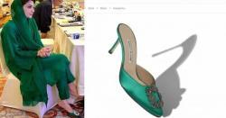 مریم نواز اے پی سی میں ہزاروں ڈالر کے جوتے پہن آئیں