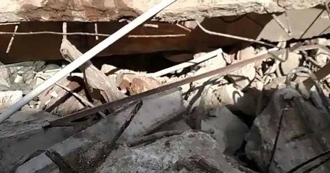 ''یا اللہ مدد ''پاکستان کے اہم شہر میںفیکٹری  کی چھت گرگئی، متعدد افراد ملبے تلے دب گئے
