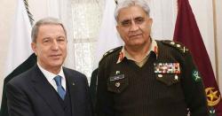 آرمی چیف جنرل باجوہ سے ترک وزیر دفاع کی ملاقات، دو طرفہ تعلقات، دفاعی امور پر بات چیت