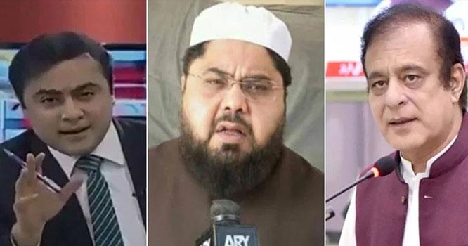 اویس نورانی کے آزادبلوچستان کے نعرے پر شبلی فراز اور منصورعلی خان میں بحث
