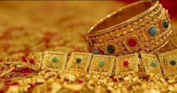سونے کی فی تولہ قیمت میں 100 روپے اضافہ