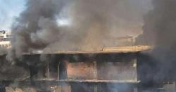 کراچی،مہندی کے کارخانے میں آتشزدگی سے 3 افراد جاں بحق