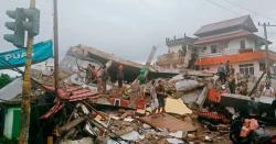 انڈونیشیا میں زلزلہ،ہلاکتوں کی تعداد 34ہوگئی،سیکڑوں زخمی، متعدد ابھی بھی ملبے تلے موجود