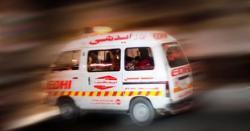 خانیوال:تیز رفتارمسافر بس الٹنے سےدرجنوں افرادشدید زخمی