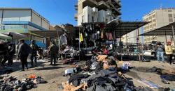 بغداد میں 2خودکش دھماکوں کے نتیجے میں  28افراد ہلاک