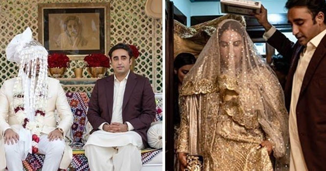 بختاوربھٹوزرداری اورمحمودچوہدری کا ولیمہ پشاورمیں بھی ہونے کاامکان