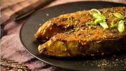مچھلی توا کباب شملہ مرچ کے ساتھ بنانے کی ترکیب