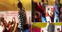 رقص کے نام پر بے ہودگی۔۔ اعلیٰ تعلیم یافتہ اساتذہ نے سٹیج پرآ کر ایسا کام کیا کہ شرکا کے سر بھی شرم سے جھک گئے