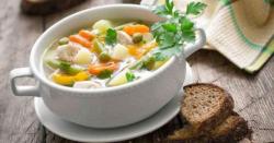 چکن مکس ویجیٹیبل سوپ بنانے کی ترکیب