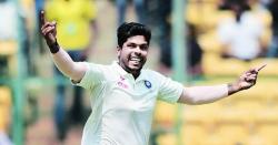 فاسٹ بائولر اومیش یادیو انگلینڈ کے خلاف آخری دو ٹیسٹ کے لئے بھارتی سکواڈ میں شامل