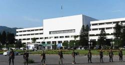 اعتماد کا ووٹ: پارلیمنٹ ہاؤس پر سیکورٹی انتہائی سخت