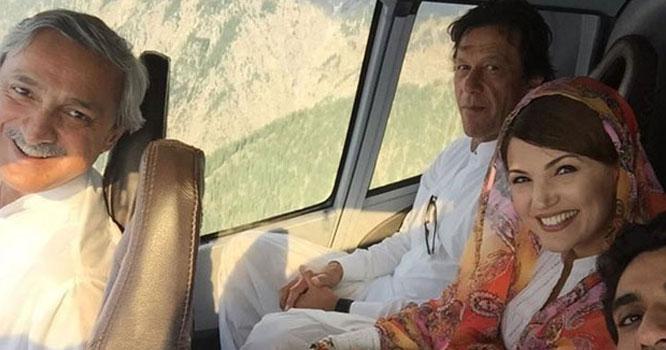 عمران خان نے ریحام خان سے جان چھڑوانے کےلئے جہانگیر ترین سے مدد مانگی تھی