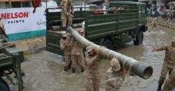 اسلام آباد ، نالہ لئی میں سیلابی صورتحال،پاک فوج کے دستے ای الیون پہنچ گئے